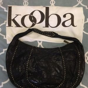 KOOBA Black Hobo Purse